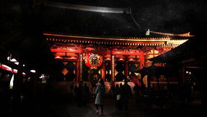 japan tokyo asakusa amazing temple travel