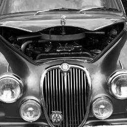 photography black & white retro cars