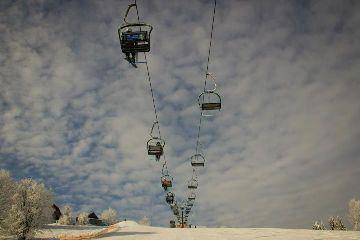 zima winter polska poland nature ski