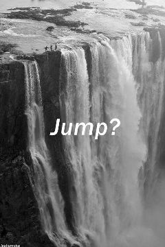 photography emotions people nature black & white jump