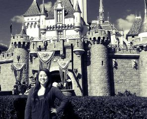cute black & white disney asian birthday travel