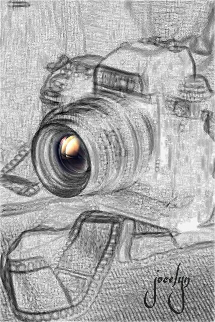 pencil art photo editing