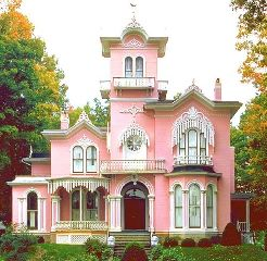 colorful vintage photography pink