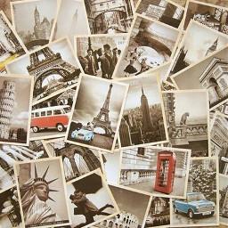 ventage Retro old post cards